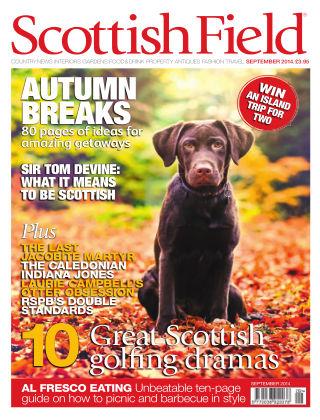 Scottish Field Magazine September 2014