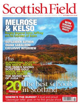 Scottish Field Magazine October 2014