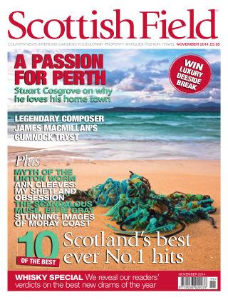 Scottish Field Magazine November 2014