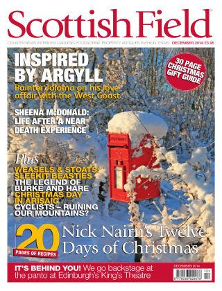 Scottish Field Magazine December 2014