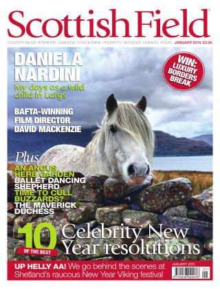Scottish Field Magazine January 2015