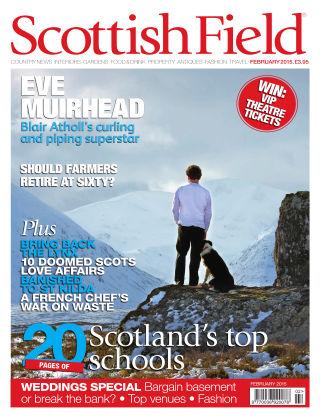 Scottish Field Magazine February 2015