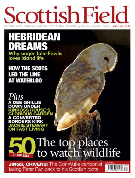 Scottish Field Magazine June 01, 2015 00:00