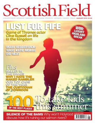Scottish Field Magazine August 2015