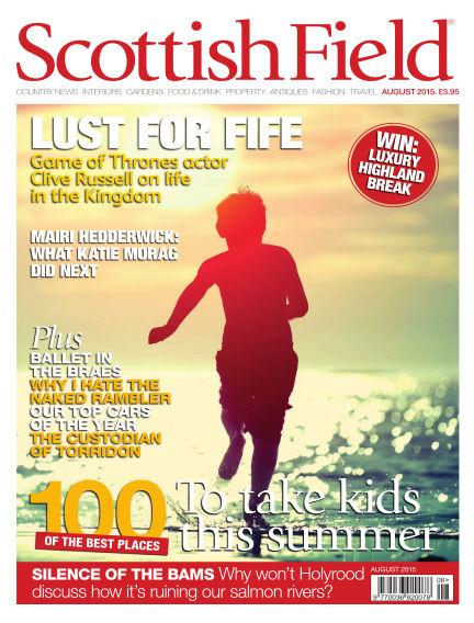 Scottish Field Magazine July 01, 2015 00:00