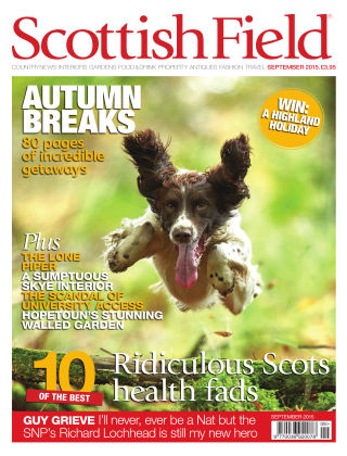 Scottish Field Magazine September 2015