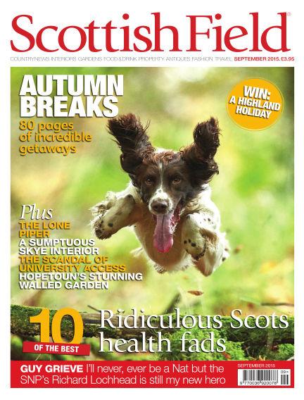 Scottish Field Magazine August 01, 2015 00:00