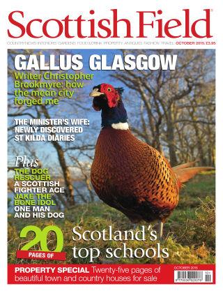 Scottish Field Magazine October 2015