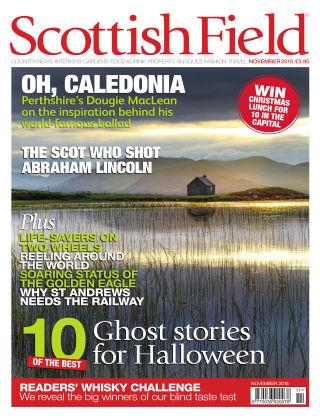 Scottish Field Magazine November 2015