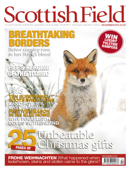 Scottish Field Magazine November 01, 2015 00:00