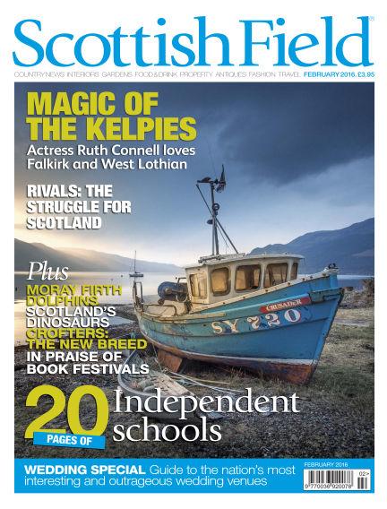 Scottish Field Magazine January 05, 2016 00:00