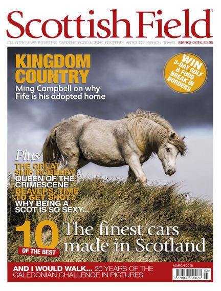 Scottish Field Magazine January 29, 2016 00:00