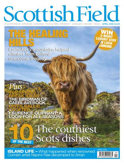 Scottish Field Magazine February 26, 2016 00:00