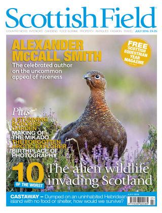 Scottish Field Magazine July 2016