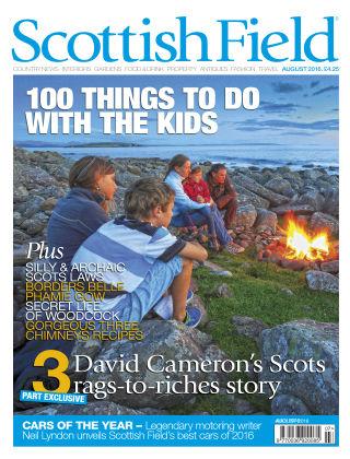 Scottish Field Magazine August 2016