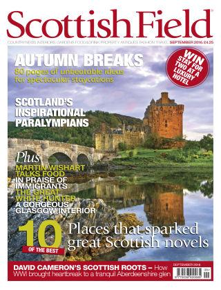 Scottish Field Magazine September 2016