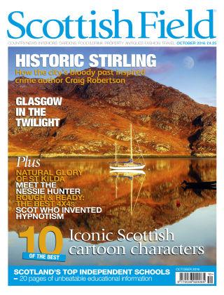 Scottish Field Magazine October 2016