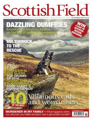 Scottish Field Magazine November 2016