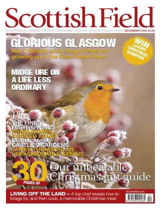 Scottish Field Magazine December 2016