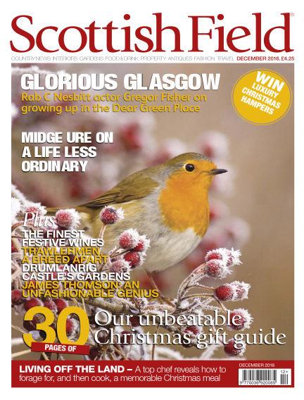 Scottish Field Magazine November 25, 2016 00:00