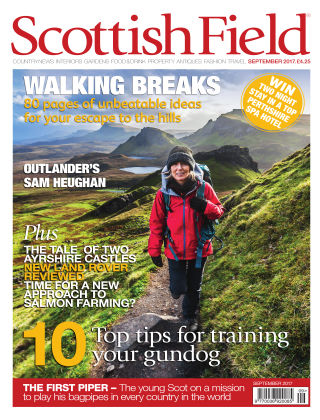 Scottish Field Magazine September 2017