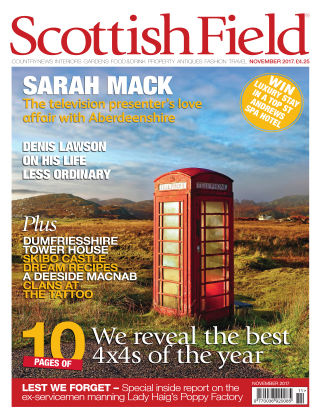 Scottish Field Magazine November 2017