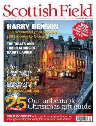 Scottish Field Magazine December 2017