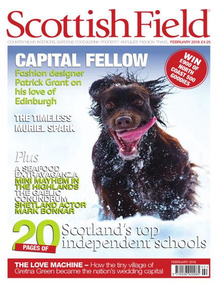 Scottish Field Magazine January 05, 2018 00:00