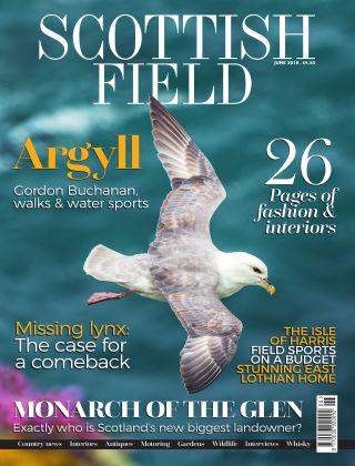 Scottish Field Magazine June 2018