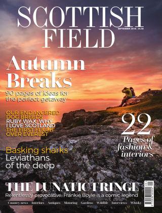 Scottish Field Magazine September 2018