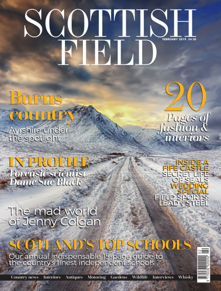 Scottish Field Magazine December 26, 2018 00:00