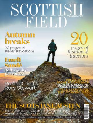 Scottish Field Magazine September 2019