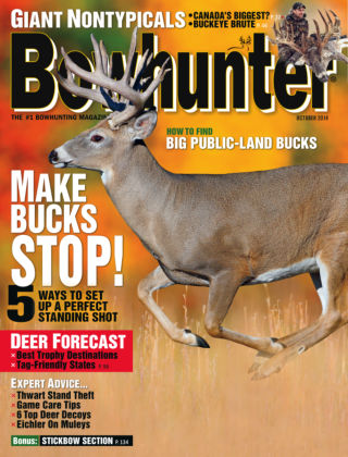 Bowhunter Magazine October 2014