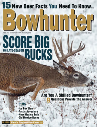 Bowhunter Magazine Jan / Feb 2015
