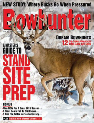 Bowhunter Magazine March 2015