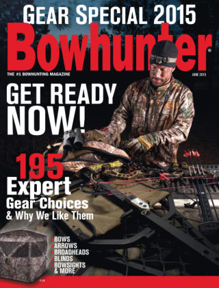 Bowhunter Magazine June 2015