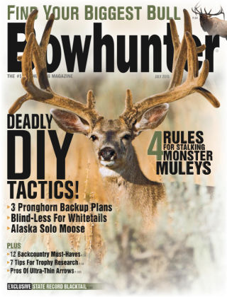Bowhunter Magazine July 2015