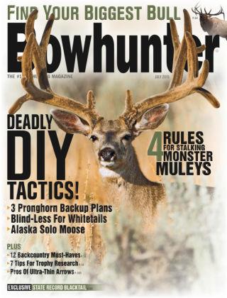 Bowhunter Magazine July 2015