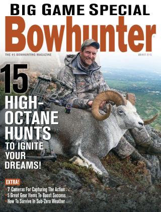 Bowhunter Magazine August 2015