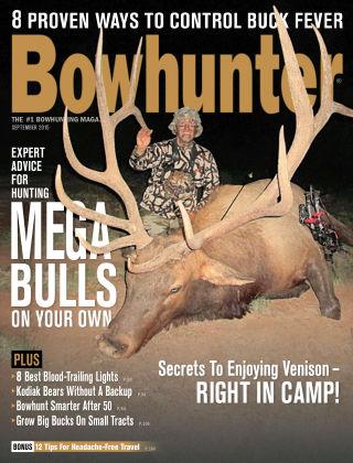 Bowhunter Magazine September 2015