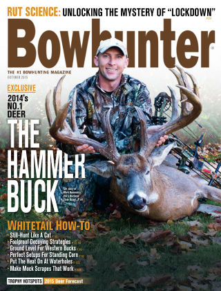 Bowhunter Magazine October 2015