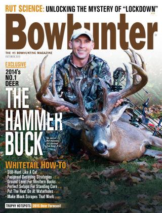 Bowhunter Magazine October 2015