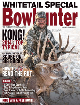 Bowhunter Magazine Nov / Dec 2015