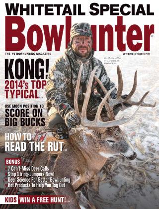 Bowhunter Magazine Nov / Dec 2015
