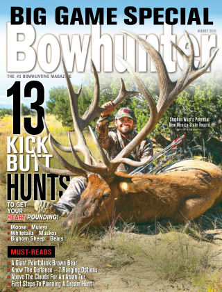 Bowhunter Magazine Aug 2016