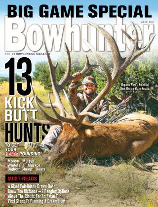 Bowhunter Magazine Aug 2016