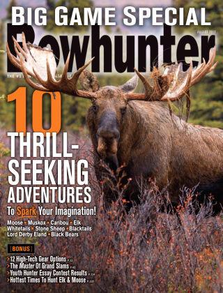 Bowhunter Magazine Aug 2017