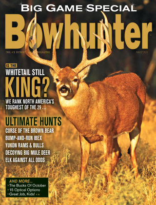 Bowhunter Magazine August 2020