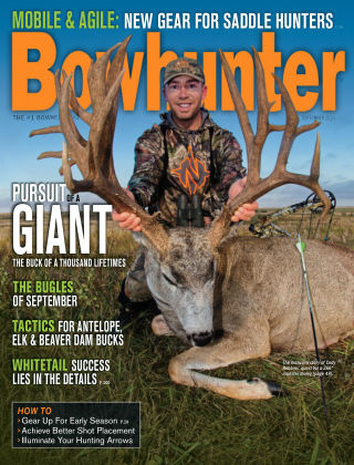Bowhunter Magazine September 2020