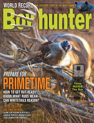 Bowhunter Magazine October 2020